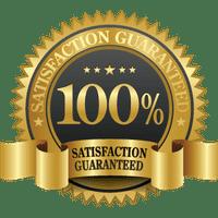 100% Satisfaction, Guaranteed