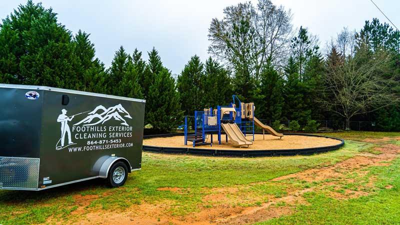 Playground Sanitizing
